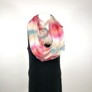 🔥lightweight spring summer infinity scarf pink